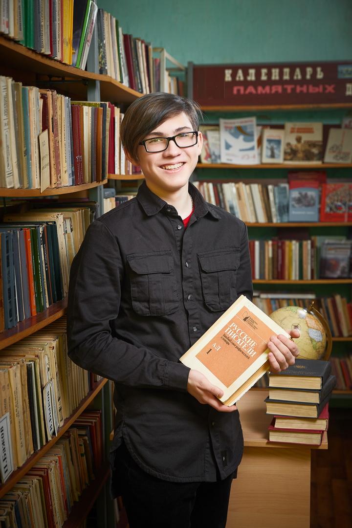Портрет выпускника в библиотеке