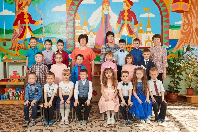 Фотосессия выпускников детского сада