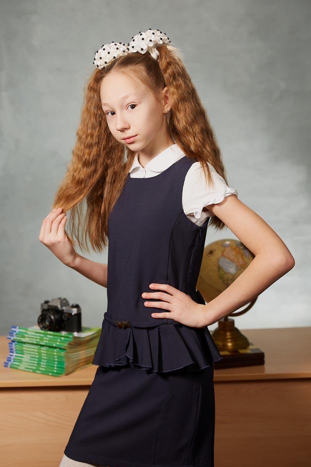 Портрет выпускницы 4 класса