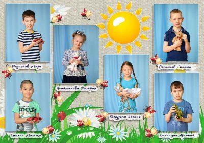Выпускной альбом Оптимальный Детский сад Фото_02
