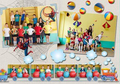 Выпускной альбом Оптимальный Детский сад Фото_06
