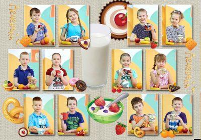Выпускной альбом Оптимальный Детский сад Фото_07