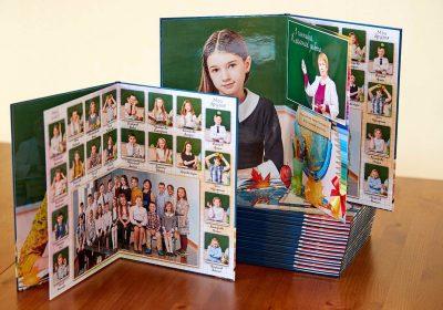 Выпускной альбом 2 разворота Школа 3 Фото_ 05