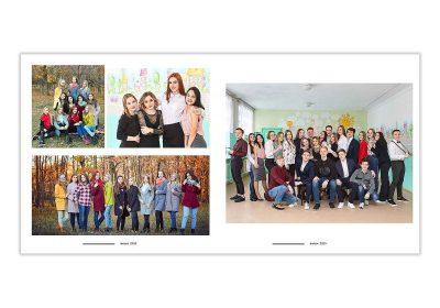 Выпускной альбом 23х23 60 страниц Фото_11