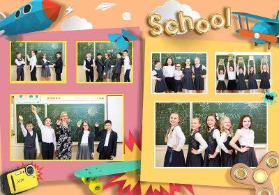 Выпускной альбом 4 класс Яркий выпускной Фото_04